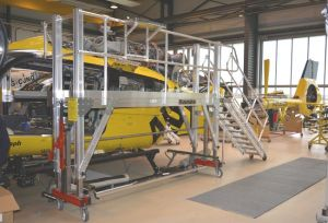 euroline helicopter servicing platform