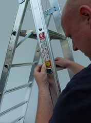 Ladder inspections by skilled persons