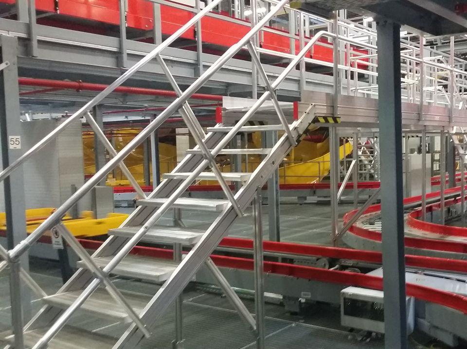 Industry - Ladders, podiums, bridges, platforms, scaffolding