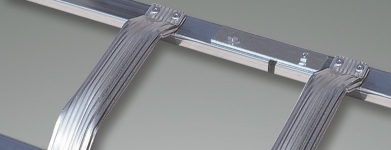 Extrem euroline Dachleiter, Dachdeckerleiter und Kaminkehrerleiter LX33