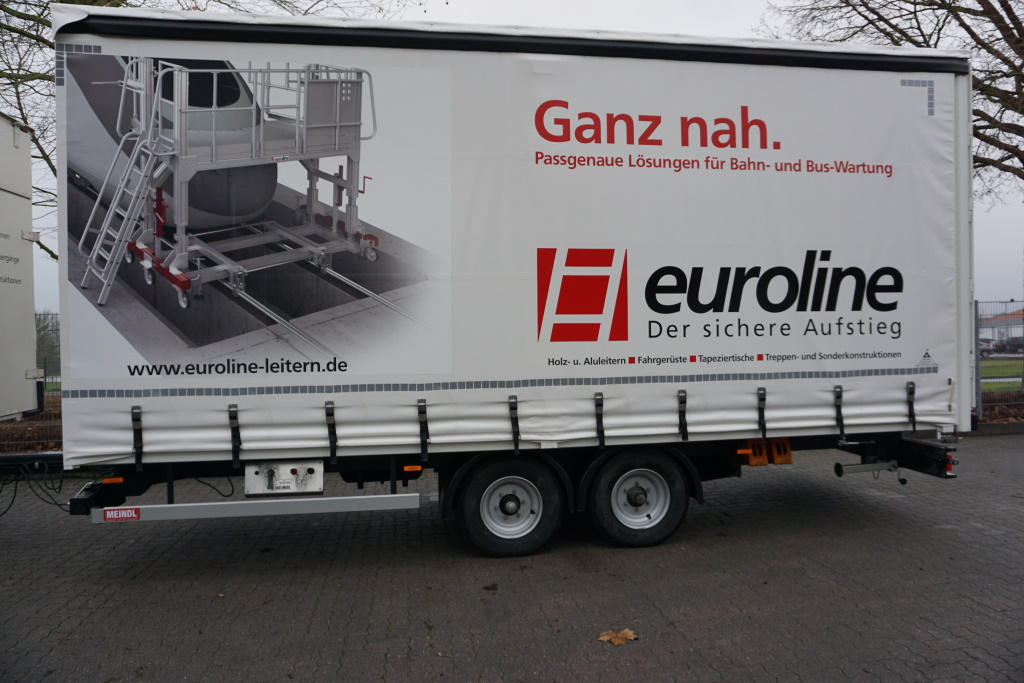 New two-axle trailer